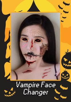 Vampire Face Halloween Makeup screenshot 2