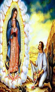 Virgen de Guadalupe me cuida poster