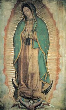 Virgen de Guadalupe nos Ama poster