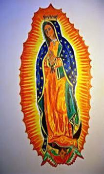Virgen de Guadalupe Amanos poster