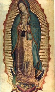 Virgen de Guadalupe Anivesario 12 poster