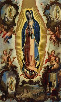 Virgen de Guadalupe cuidame poster