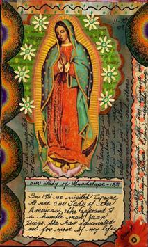 Virgen de Guadalupe con Nosotros poster