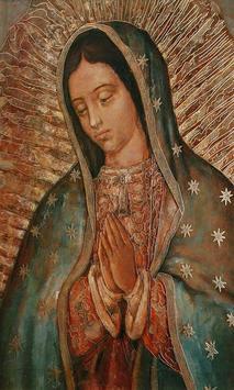 Virgen de Guadalupe dame fuerzas poster