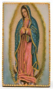 Virgen de Guadalupe Divina poster