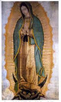 Virgen de Guadalupe Familia poster