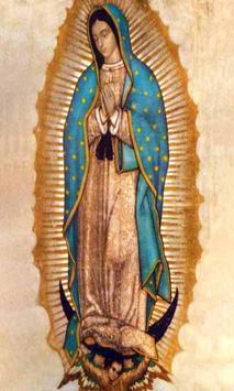 La Virgen de Guadalupe Santa poster