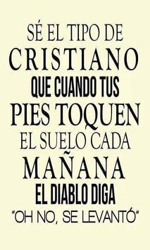 Mensajes Biblicos Cristianos poster