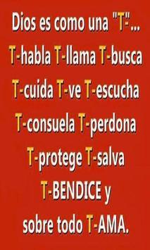 Reflexiones Cristianas de Fe poster