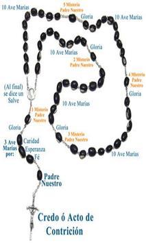 Santo Rosario Catolico poster