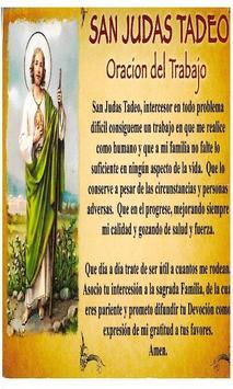 San Judas Tadeo para los Enfermos poster