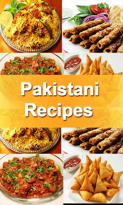 Pakistani Food Recipes In Urdu Poster