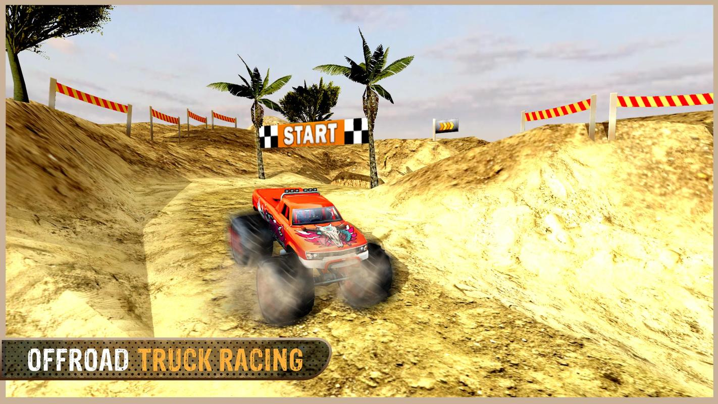 Crazy monster truck driver: mad truck challenge for android apk.