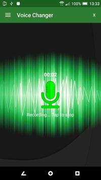 Voice Changer スクリーンショット 2