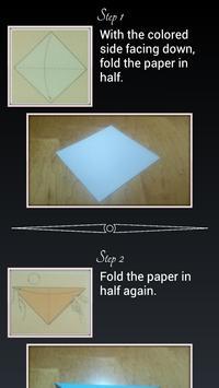 Origami Crane Instructions screenshot 1