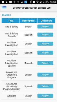 Buckhaven Safety App screenshot 5