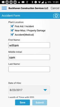 Buckhaven Safety App apk screenshot