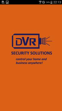 DVR  Security Solutions poster