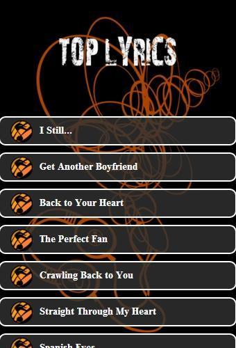 BACKSTREET BOYS Lyrics for Android - APK Download