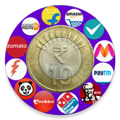 Online shopping India free earn by sharing icon