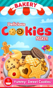 Cookie Maker game - DIY make bake Cookies with me poster
