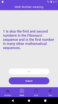 Number Meaning (Facts about numbers) apk screenshot