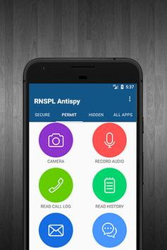 RNSPL Antispy apk screenshot