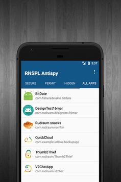 RNSPL Antispy screenshot 3