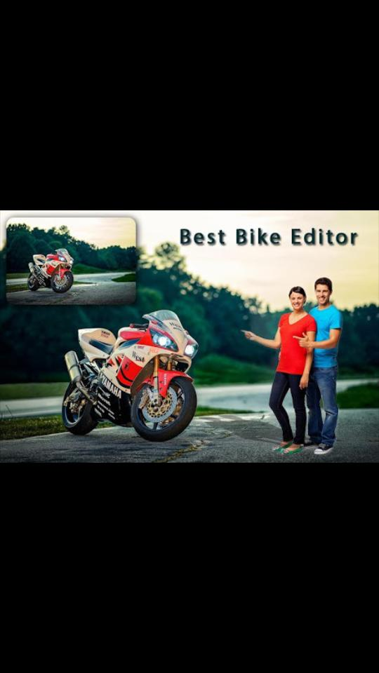pic frame editing Of Bike for Android - APK Download