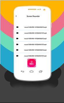 Enregistreur écran Sans Root apk screenshot