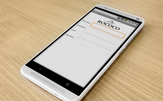 Rococo Point Reward apk screenshot