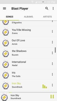Blast Music Player apk screenshot