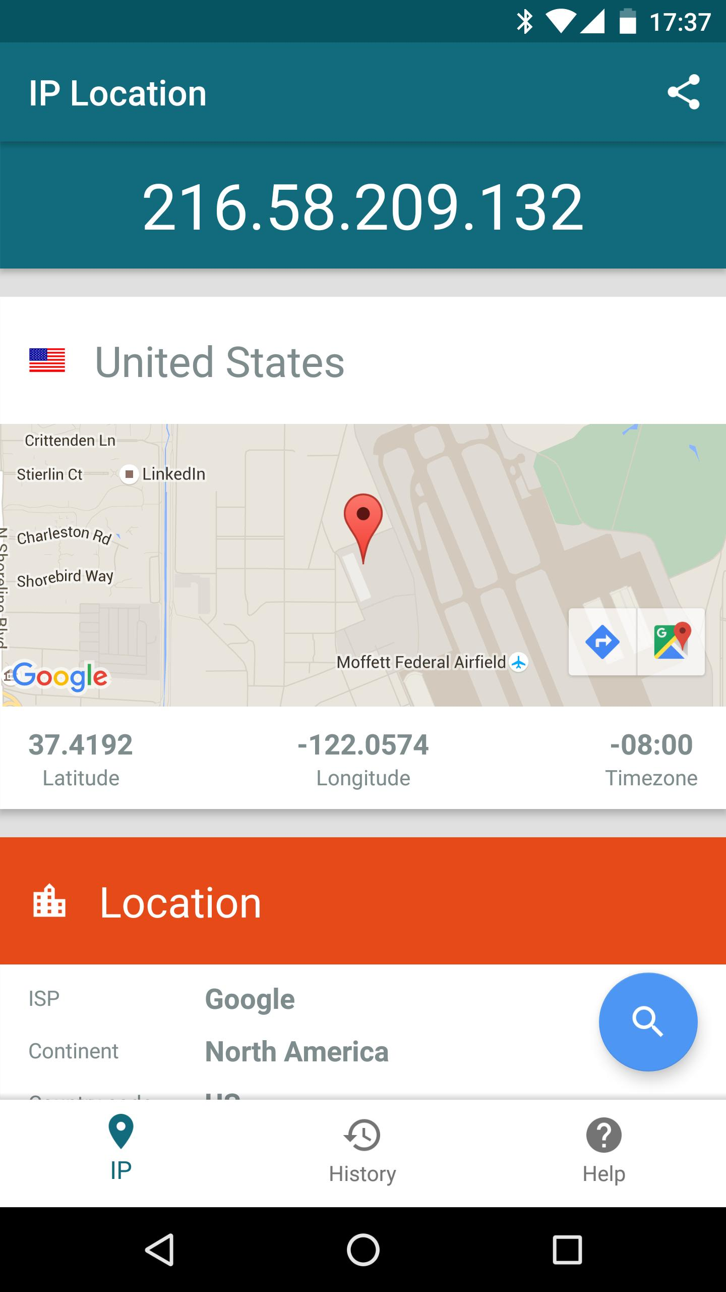 IP Location for Android - APK Download