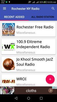 Rochester NY Radio poster