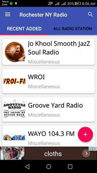 Rochester NY Radio apk screenshot