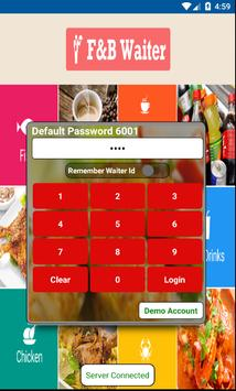 FnB Digital Waiter Mobile poster