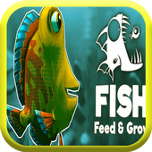 Feed & Grow a fish icon