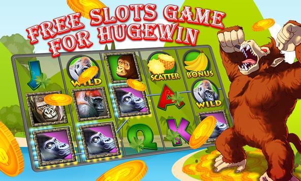 Slots Gorilla King Jackpot screenshot 2