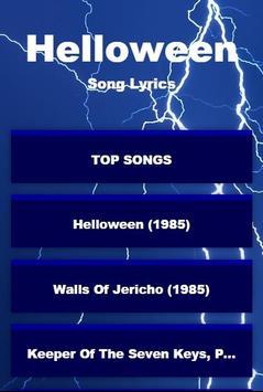 Helloween Full Album Lyrics poster