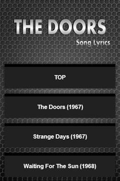 Best The Doors Album Lyrics poster