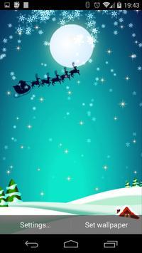 Christmas Live Wallpaper Free screenshot 10