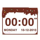 Chocolatecake Clock Widget icon