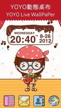 Chocolatecake Clock Widget poster