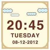 LiveCloud Clock Widget icon