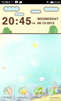 LiveCloud Clock Widget poster