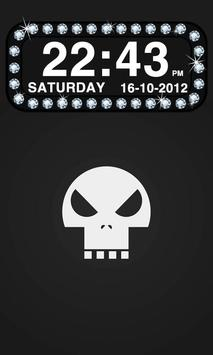 Diamond Clock Widget apk screenshot