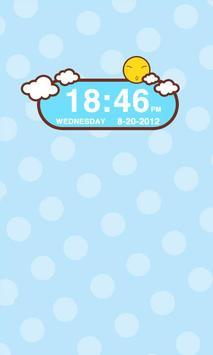 Sunshine Clock Widget apk screenshot