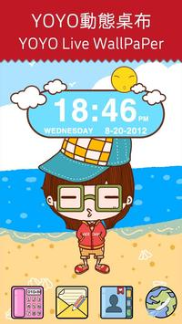 Sunshine Clock Widget poster