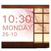 SakuraStyle Clock Widget icon