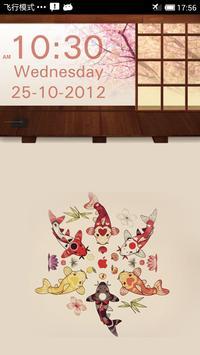 SakuraStyle Clock Widget poster